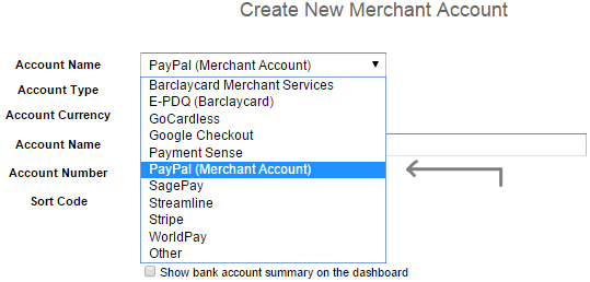 Setup PayPal automated feed - Integrations - QuickFile
