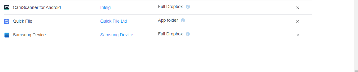 Dropbox not syncing to quickfile - support - QuickFile