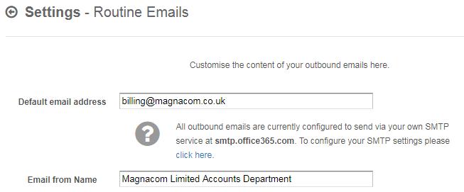 SMTP Sender Address Issue - bug (solved) - QuickFile