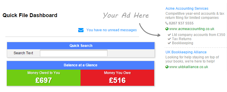 How can I advertise my service?