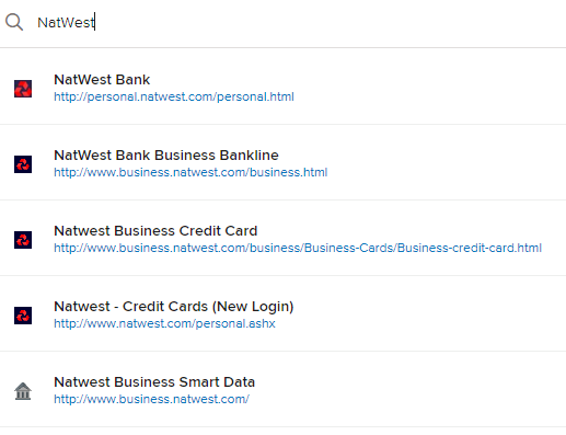 Natwest business banking integrations quickfile what web address do you use for natwest to log into your online banking we can do a search based on this which may be a better indicator reheart Choice Image