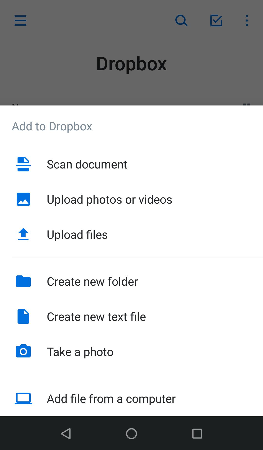 Receipt capture with Dropbox - Document Management - QuickFile