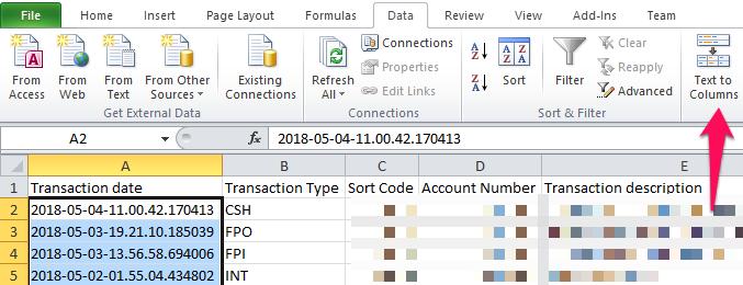 TSB Upload Statement Error - support - QuickFile