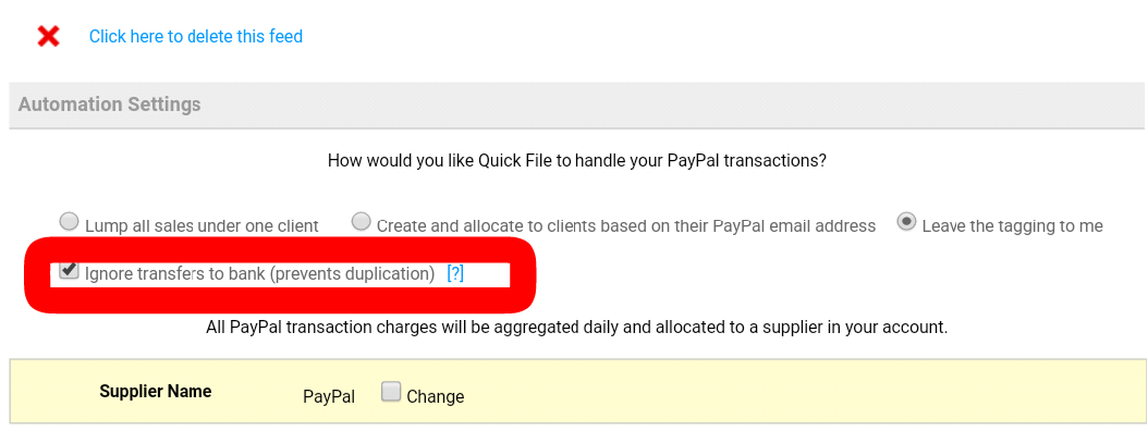 how to change the account paypal withdrawals go to