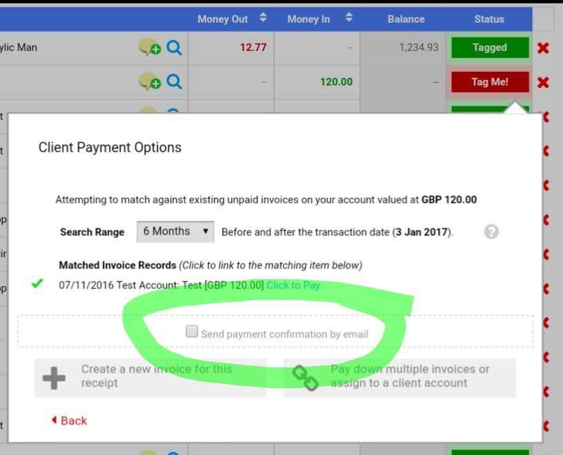 How Do I Send A Payment Received Email Support QuickFile - Send invoice after payment received